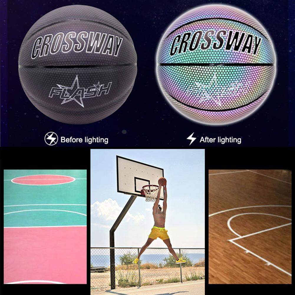 Glowing Reflective Backetball