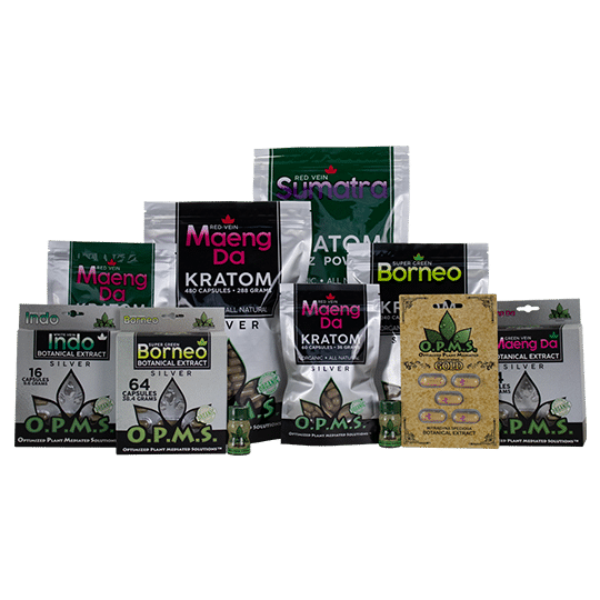 OPMS Malay Kratom Products Online